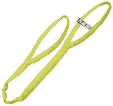 Synthetic Fiber round Sling with lifting eyes